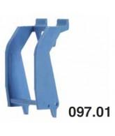 Spona Variclip 097.01, modrá, 10 ks