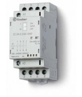 Stykač instalační., 4Z/25 A, 24 V AC/DC, přepínač