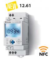 Hodiny spínací, el., 1P/16A, 230V AC, TP, NFC