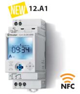 Hodiny spínací, astr., 1P/16A, 230V AC, TP, NFC
