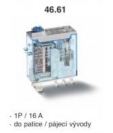 Relé průmyslové miniaturní 46.61.9.012.0074